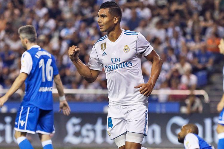 Футболисты «Реала» стартовали вчемпионате Испании скрупной победы над «Депортиво»