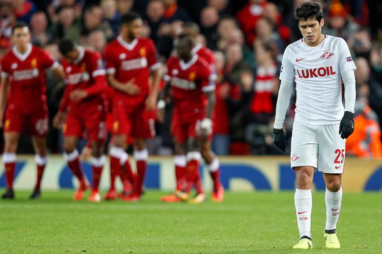 Погром! «Ливерпуль» вынес «Спартак» в Лигу Европы
