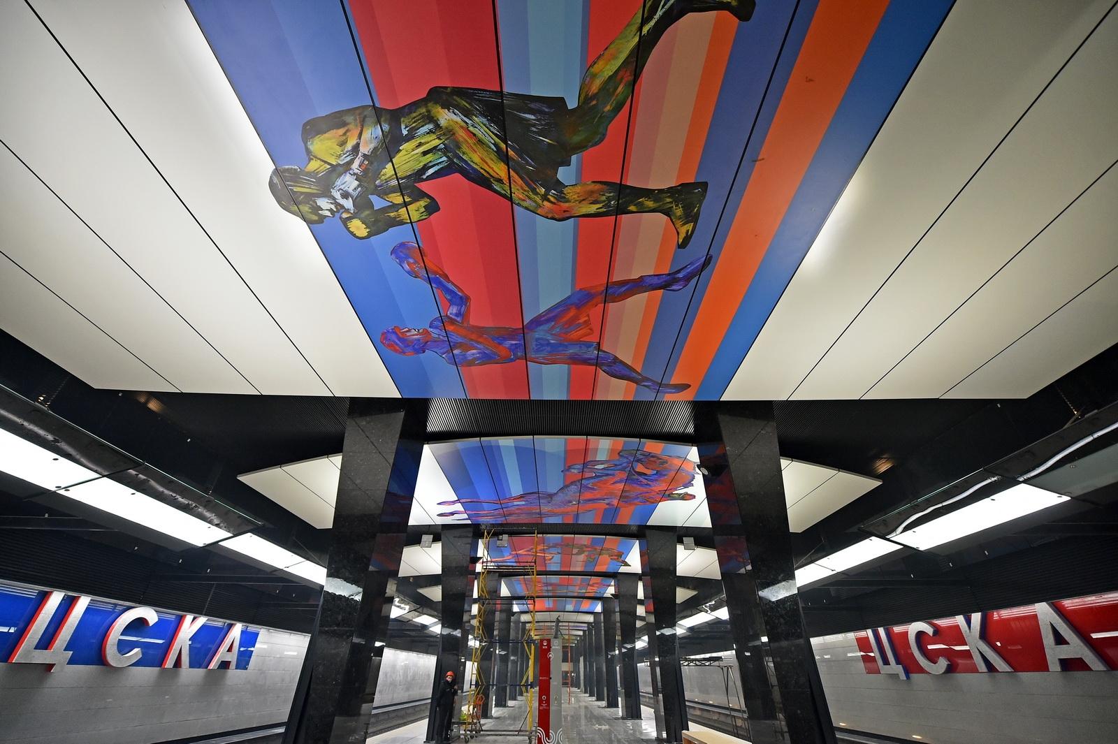 Картинки станция метро цска