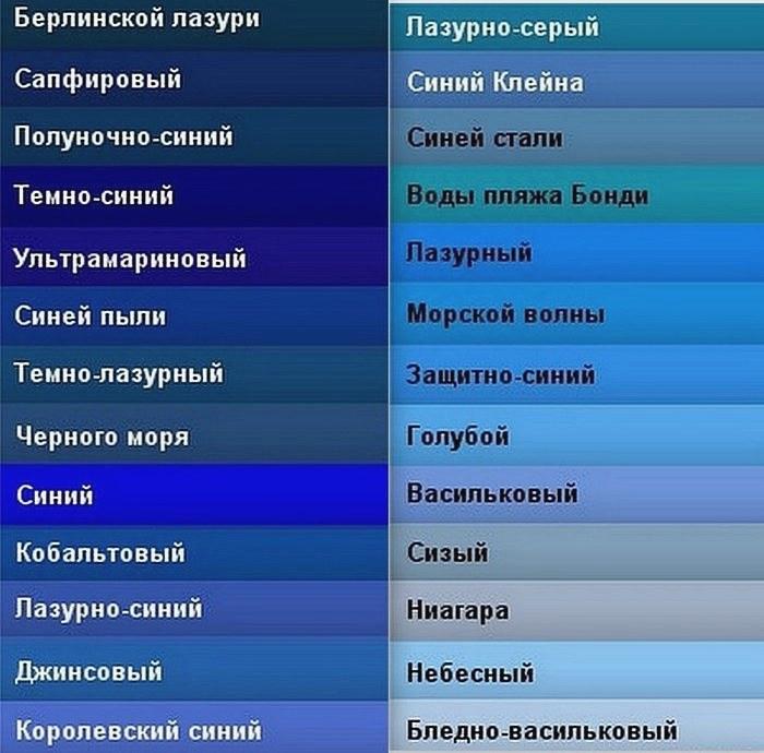 Как сделать светло-синий цвет 49