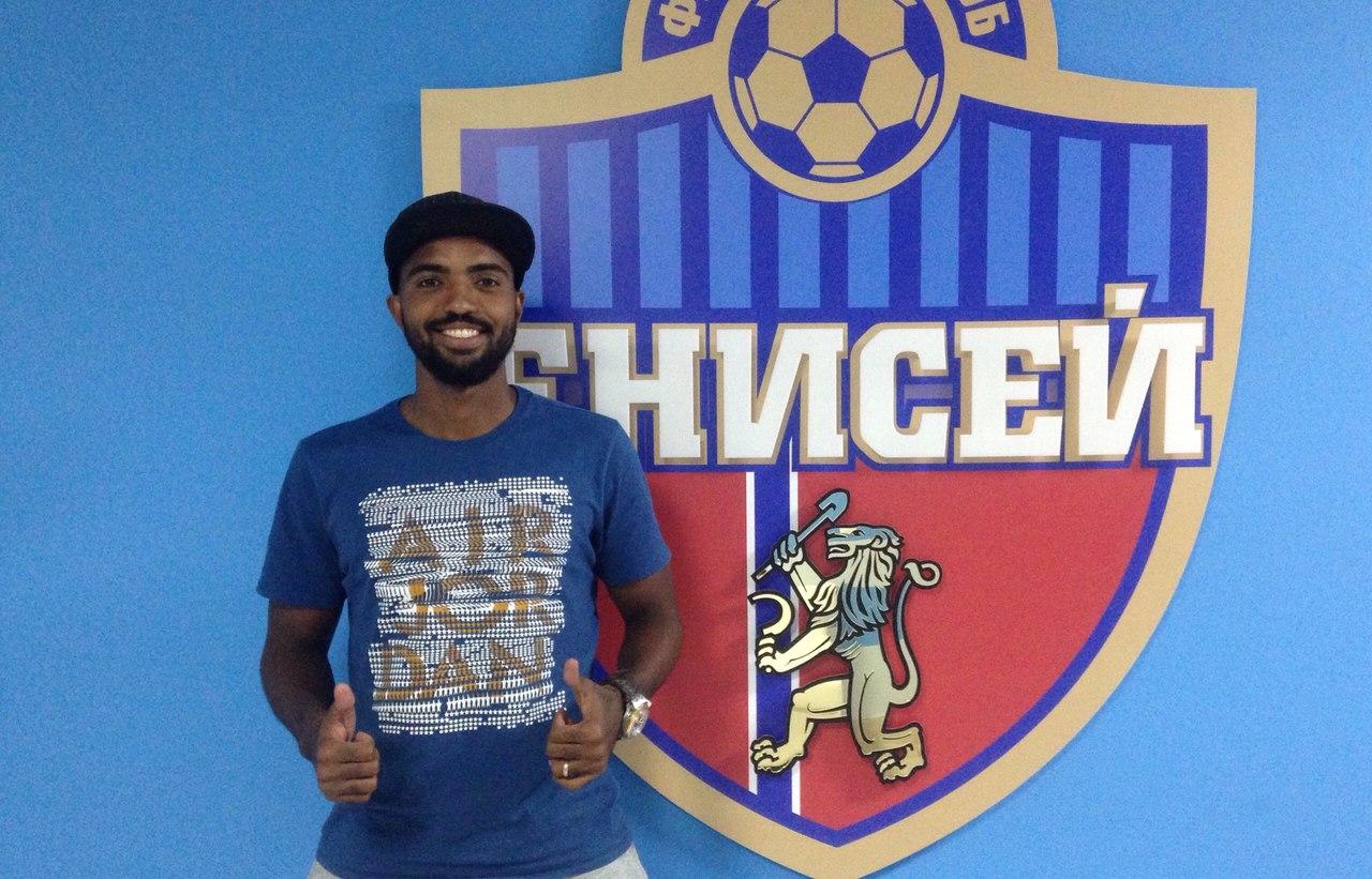 ФК «Енисей» подписал договор  сбразильским нападающим Нивалдо