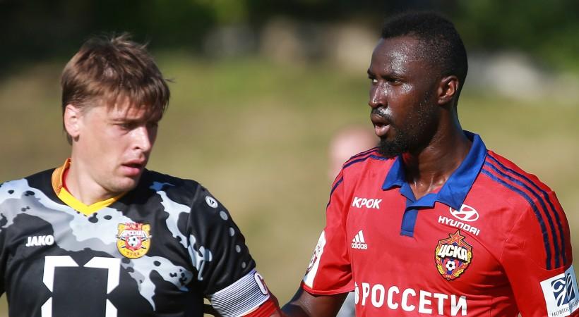 ЦСКА навыезде переиграл «Томь»