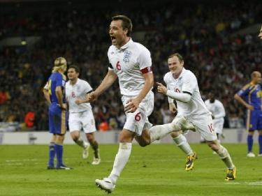 Отчет о матче Англия - Украина: «ТЕРРИтория первого места определена»