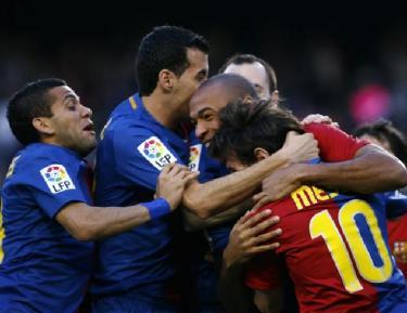 Чемпионат Испании, 30-й тур: «Каталонский прогулочный темп»