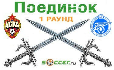 Поединок. ЦСКА - «Зенит»