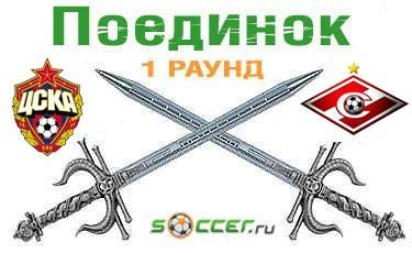 Поединок. ЦСКА  - «Спартак»