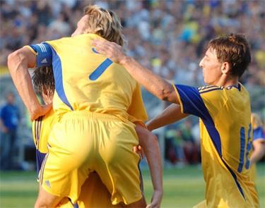 Отчет о матче Украина - Англия: «Английские презенты»