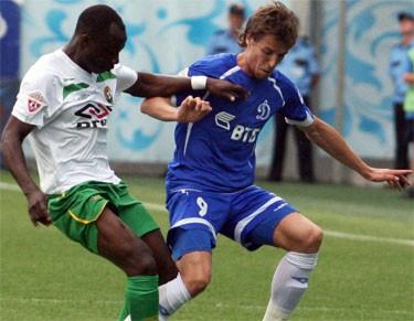 Отчет о матче «Кубань» - «Динамо»: