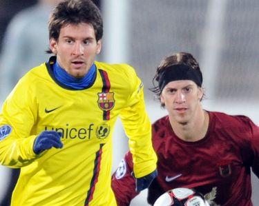 Отчет о матче «Рубин» - «Барселона»: «На барском уровне»