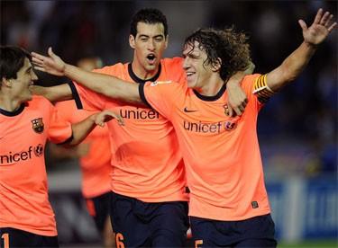 «Барселона» разгромила «Тенерифе» и другие результаты