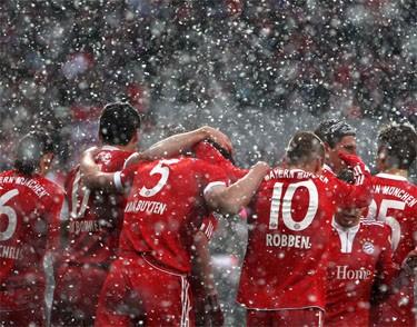 Чемпионат Германии, 20-й тур: «Срок снеговиков»