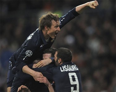 «Реал» и «Лион» сыграли вничью