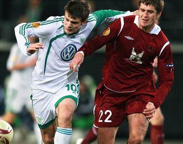 Отчет о матче «Вольфсбург» - «Рубин»: «На последнем вздохе»