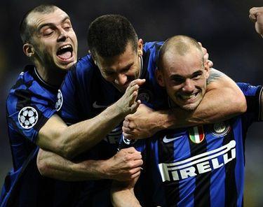 Отчет о матче «Интер» - «Барселона»: «Как Снейдер на голову»