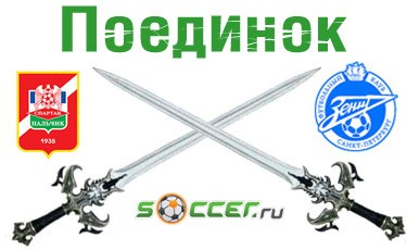 Поединок. «Спартак-Нальчик» - «Зенит»