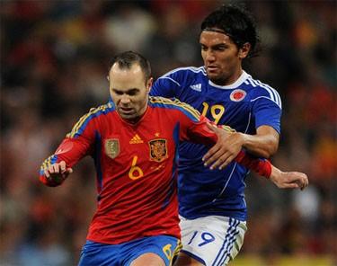 Испания обыграла Колумбию и другие результаты