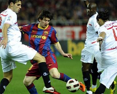 «Севилья» и «Барселона» сыграли вничью и другие результаты
