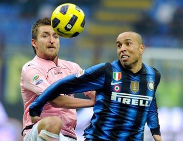 «Интер» обыграл «Палермо» и другие результаты