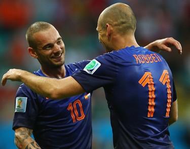 Нидерланды разгромили Испанию и другие результаты