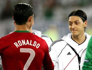 Роналду и немцы