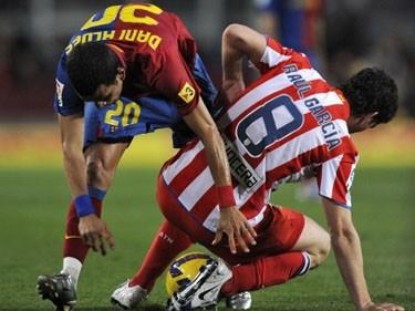 Отчет о матче «Барселона» – «Атлетико»: «Триумф дубля над дублем»