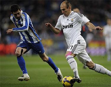 Отчет о матче «Реал» - «Депортиво»: «И снова Роббен!»