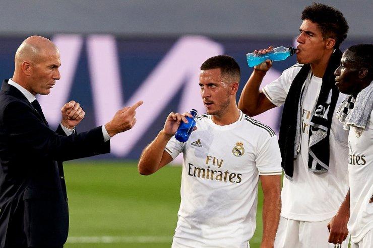 Зидан и игроки «Реала»