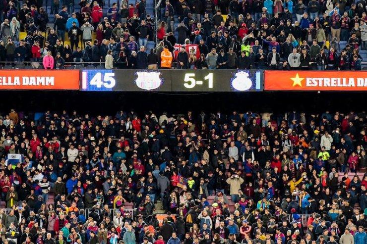 Барселона - Реал - 5:1