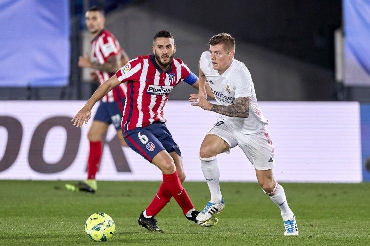 «Реал» и «Атлетико»