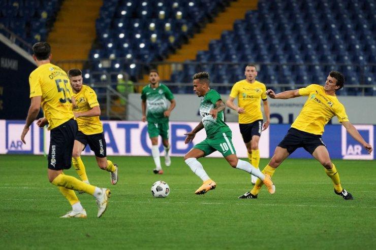Игроки «Ростова» и «Маккаби»
