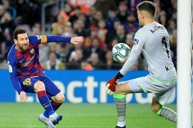 ФК «Барселона» и ФК «Реал Сосьедад»