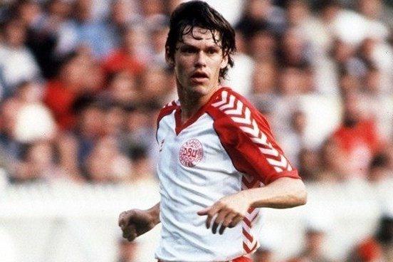 Игрок сборной Дании на Евро-1984