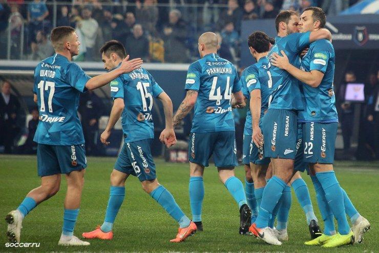 «Самые-самые» команды РПЛ первой части сезона 2019/20