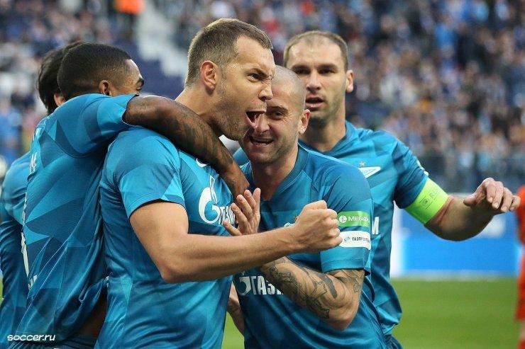 «Зенит» в зрелищном матче стал чемпионом России-2020!