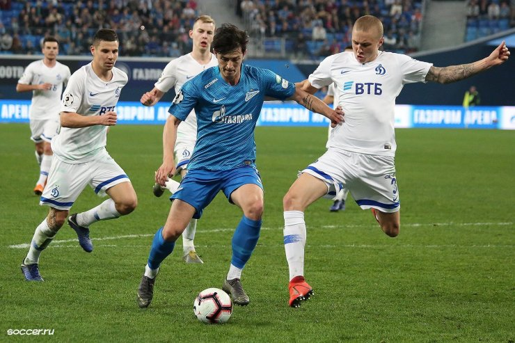 «Динамо» против «Зенита»
