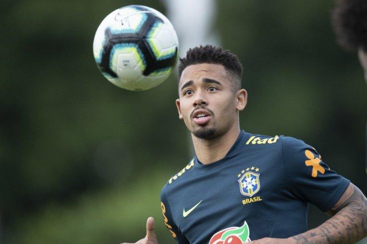 Игрок сборной Бразилии