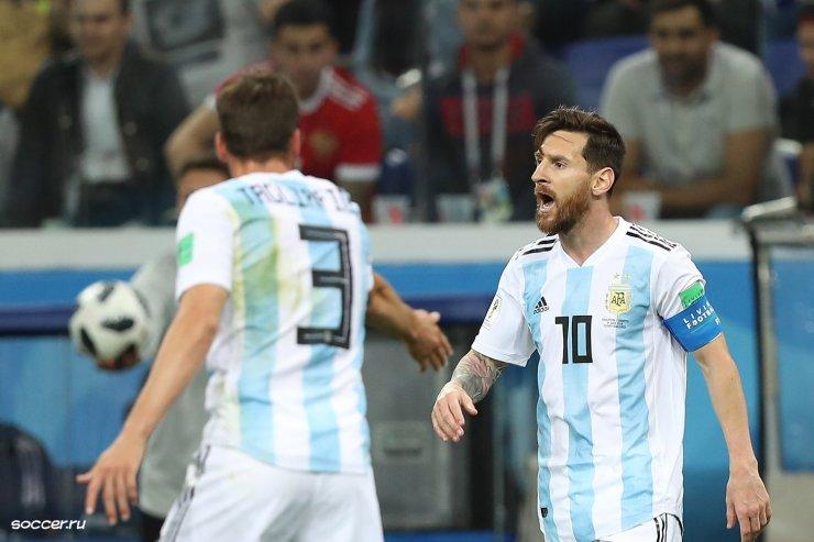 Нигерия – Аргентина: битва на Неве