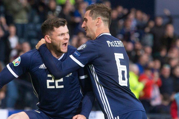 Игроки сборной Шотландии