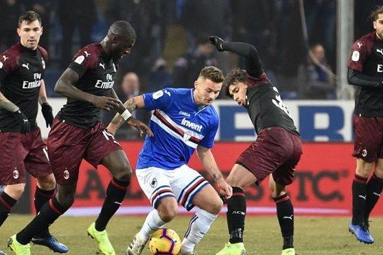 «Сампдория» — «Милан»: прогноз и ставки от БК Pinnacle