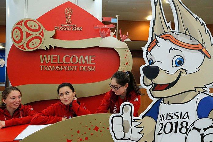 Иностранцы могут передвигаться на такси во время ЧМ-2018 по футболу без знания русского языка