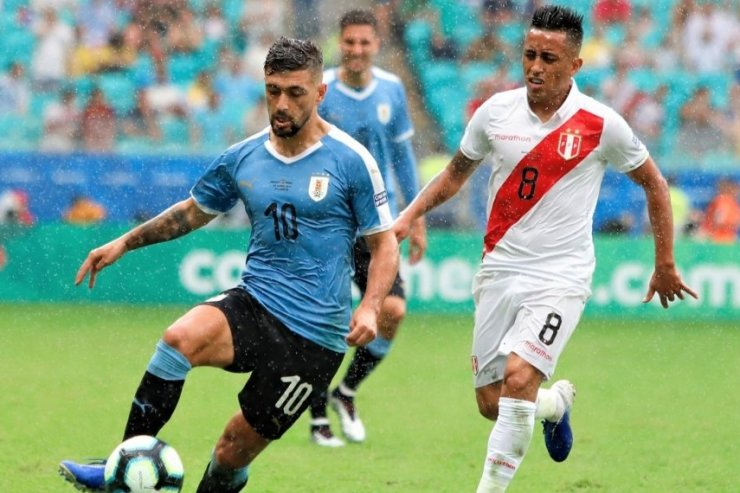 Уругвай против Перу