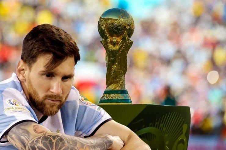 Месси и Кубок чемпионата мира