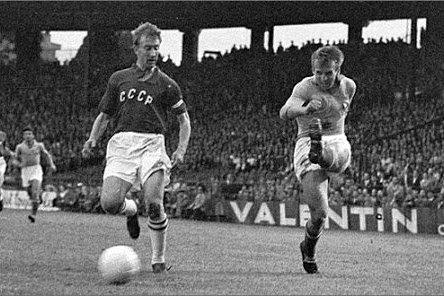 Финал Кубка Европы-1960 между сборными СССР и Югославии