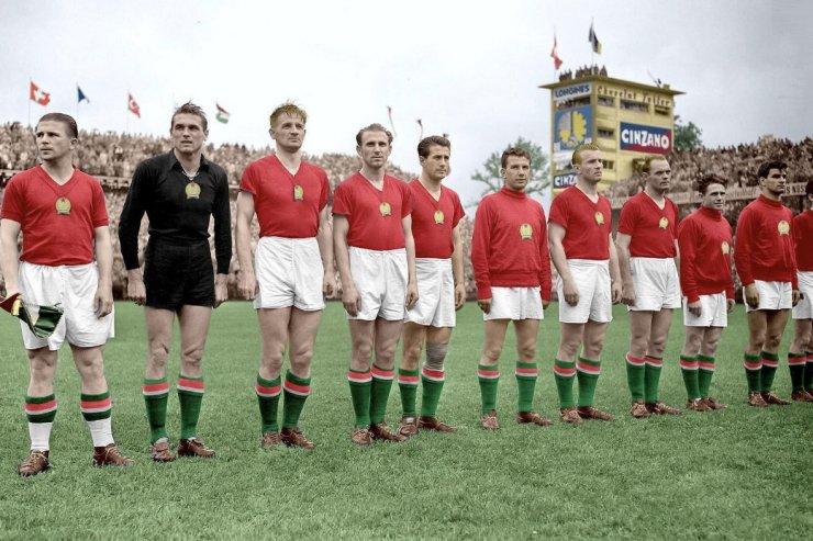 Сборная Венгрии - участник ЧМ-1954