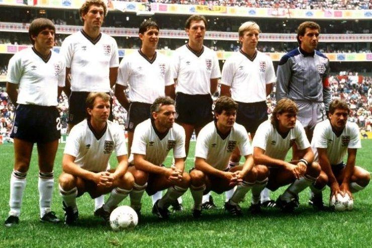 Футболисты сборной Англии на ЧМ-1986