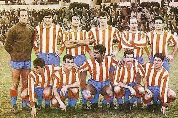 Чемпионский состав «матрасников» в 1966-м году