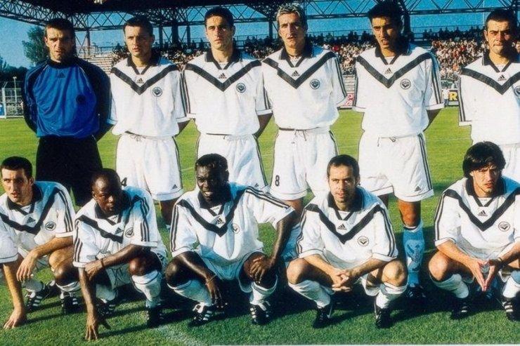 Футболисты «Бордо»