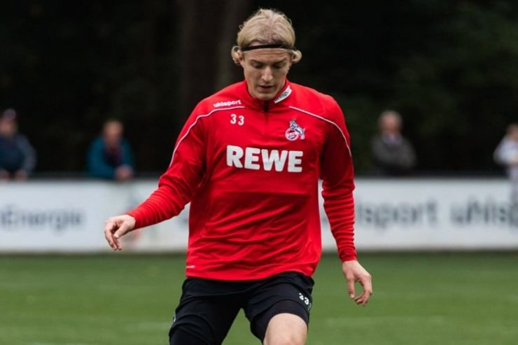 Бельгийский игрок «Кельна» Борно
