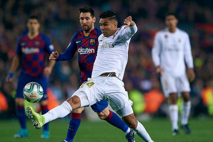 «Барселона» и «Реал»