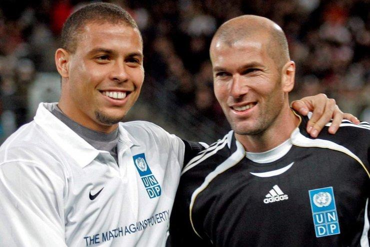 Роналдо и Зидан